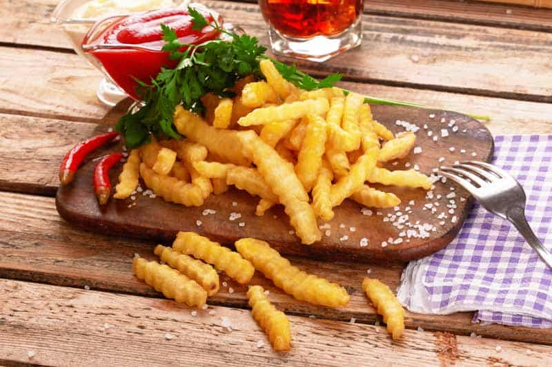 French Fries Go Bad If Left Out